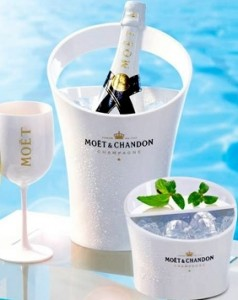 Moët Ice materials